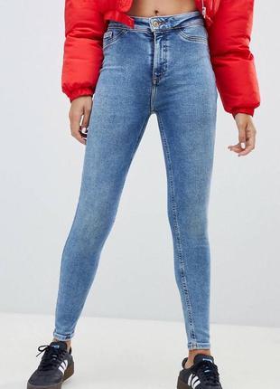 Стильные джинсы скинни skinny jeans new look дэним