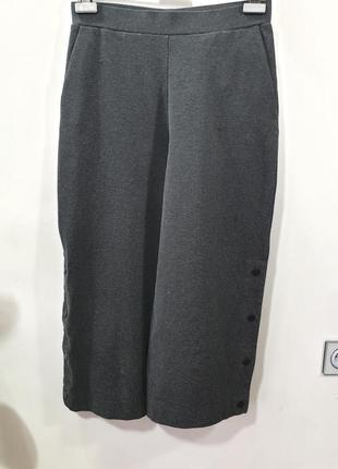 Брюки кюлоты короткие широкие штанишки cos