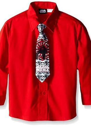 Фирменная рубашка star wars eur 164 оригинал