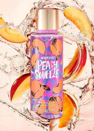 Мист спрей для тела victoria's secret peach squeeze оригинал, ...