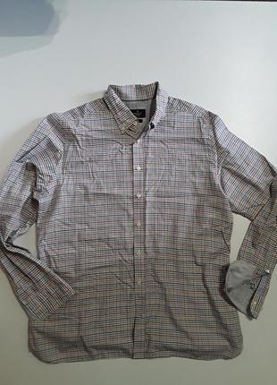 Фирменная очень классная хлопковая рубашка