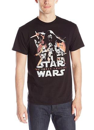 Мужская футболка размеры s m star wars звездные войны оригинал...