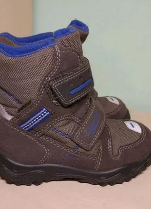 Ботинки сапоги демисезонные superfit gore tex