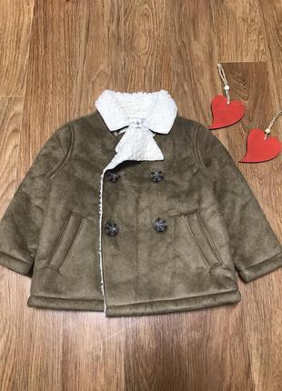 Стильная куртка декоративная дублёнка