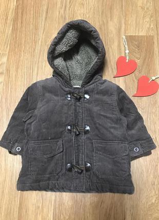Крутая деми куртка пальто на меху
