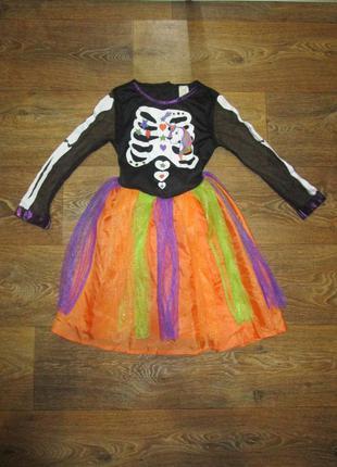 Платье карнавал хеллоуин единорожка