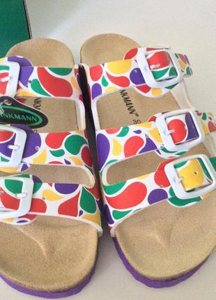 Dr. brinkmann качественная летняя обувь. стелька 17.8 см