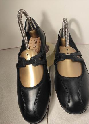 Geox respira туфли мокасины женские кожаные