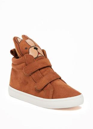 Хайтопы ботинки детские eur 23 old navy 15 см демисезон