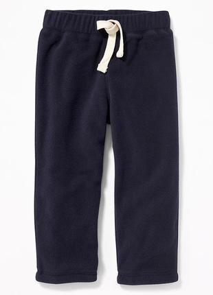 Детские флисовые спортивные штаны 2т  old navy 2 года