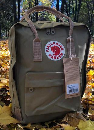 Модный рюкзак fjallraven kanken