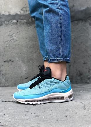 Крутые кроссовки  nike air max 97 plus mica green