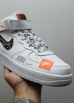 """Крутые кроссовки nike air force """"just do it pack"""""""