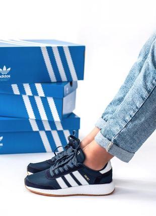 Крутые кроссовки adidas iniki