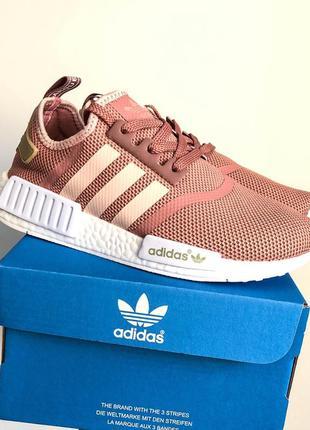 Крутые кроссовки  adidas nmd runner pink