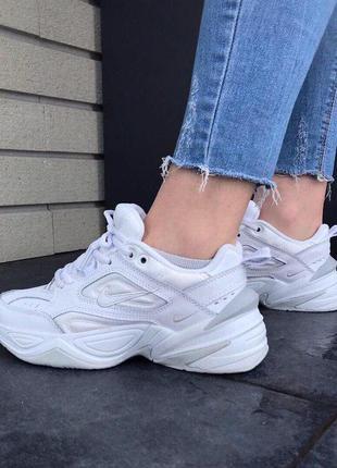 Крутые кроссовки nike m2k tekno white