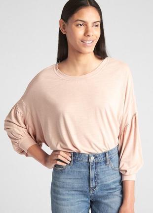 Лонгслив женский размер xs gap оригинал стильная футболка женс...