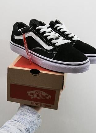 Крутые кроссовки 🔥vans old skool black&white 🔥
