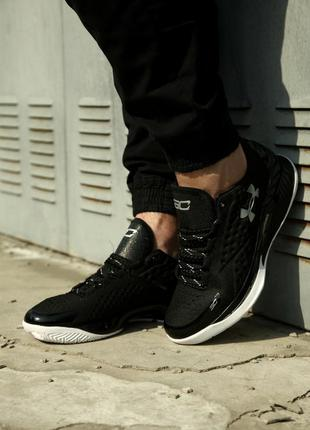 Крутые кроссовки 💎 under armour curry 1 low black 💎