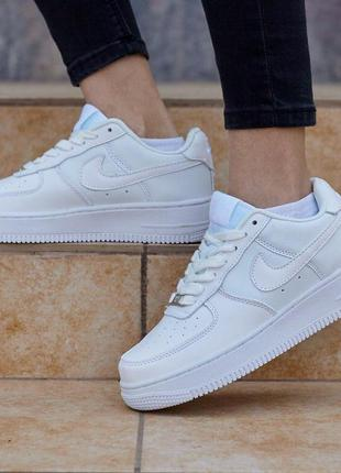 Крутые кроссовки 😍nike air force white😍