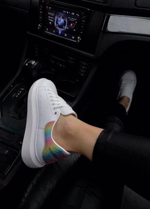 Крутые кроссовки 🔥alexander mcqueen white  colors  🔥