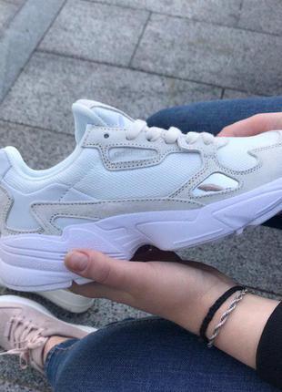 Крутые кроссовки 💣 adidas falcon white 💣