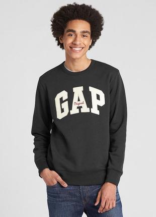 Свитшот мужской gap размер s m l xl xxl реглан мужская кофта о...