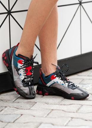 Стильные кроссовки ❤  nike react element ❤