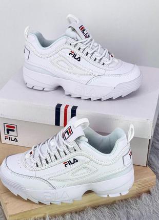 Стильные кроссовки ❤ fila disruptor ❤