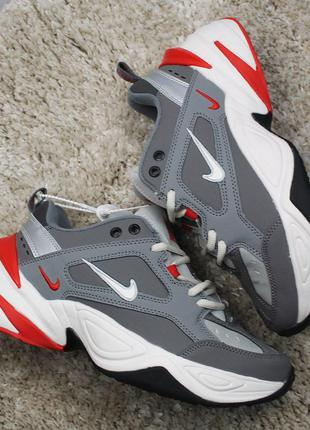 Стильные кроссовки 😍 nike m2k tekno gray white  😍