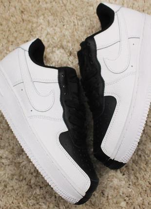 Стильные кроссовки 😍 nike air force 1 low split white black 😍