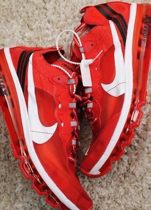Стильные кроссовки 😍nike air max x react element red 😍