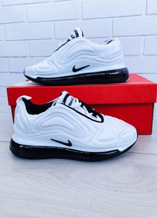 Стильные кроссовки 😍 nike air max 720 white 😍