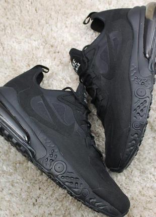 Стильные кроссовки 😍nike air max 270 x react element full black😍