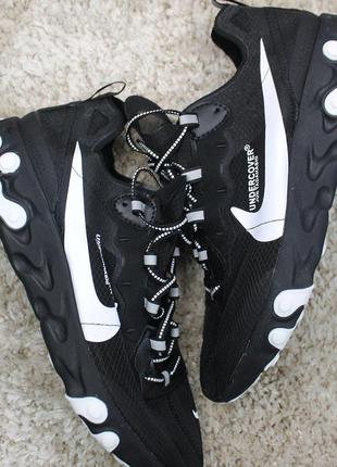 Стильные кроссовки 😍nike react element 87 black white 😍