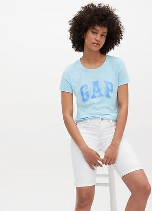 Женская летняя футболка l gap гэп женские футболки оригинал