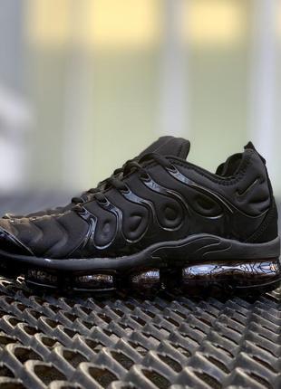 Стильные кроссовки ❤ nike air vapormax plus tn black ❤