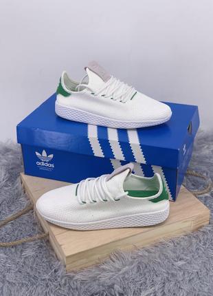 Стильные кроссовки ❤ adidas pharrell williams tennis hu ❤