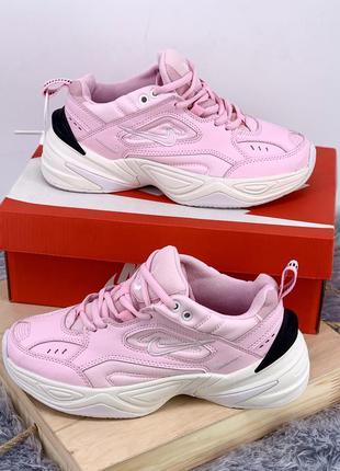 Стильные кроссовки ❤ nike m2k tekno pink ❤