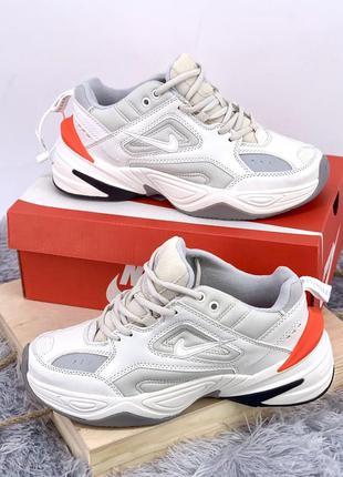 Стильные кроссовки ❤ nike m2k tekno white❤