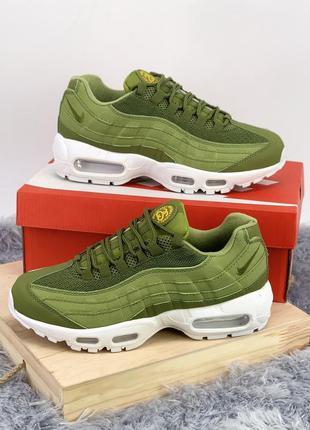 Стильные кроссовки ❤ nike air max 95 green ❤