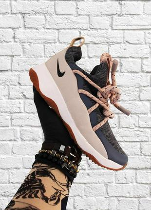 Стильные кроссовки ❤ nike city loop gray beige ❤