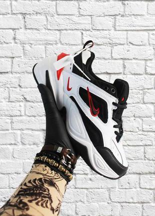Стильные кроссовки ❤ nike m2k tekno black white  ❤