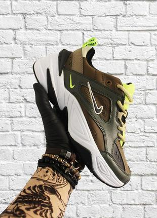 Стильные кроссовки ❤ nike m2k tekno green white  ❤