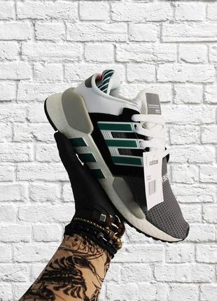 Стильные кроссовки ❤  adidas equipment black white green  ❤