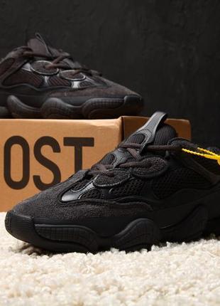 Стильные кроссовки 🔥 adidas yeezy 500 utility black 🔥