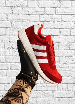 Стильные кроссовки 🔥 adidas iniki red white 🔥