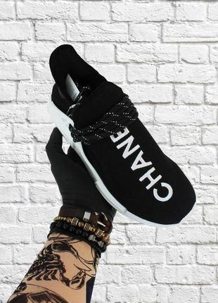 Стильные кроссовки 🔥 adidas nmd human race black white 🔥