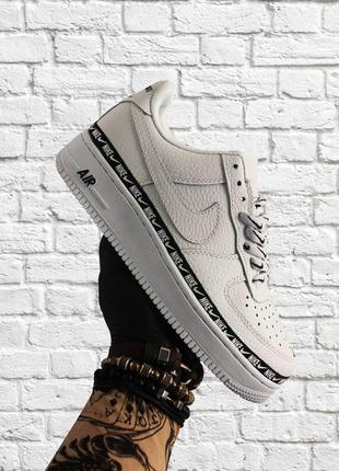 Стильные кроссовки 🔥 nike air force 1 low white black  🔥