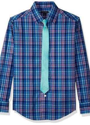 Рубашка eur 164 170 tommy hilfiger мужская подростковая детская
